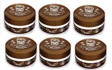 6 X Cera gel para el cabello bandido Aqua Brown - 150ml-máxima Pomada de retención