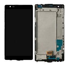 NY FOR LG X Power X3 K210 K450 US610 LS755 LCD Screen Touch Digitizer + Frame
