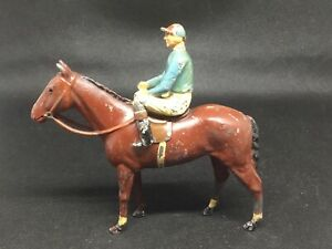 Britains Racing Colours Duke Of Norfolk (lime Green 280) Damaged See Notes