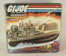 Vintage GI Joe ARAH Hovercraft Killer Whale W.H.A.L.E. With Original Box  1984