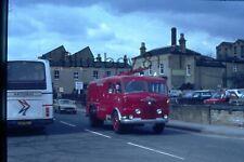 More details for  35mm slide commer fire engine huddersfield street mgb in background