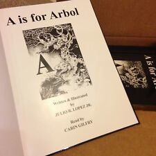 Hardback Book: A IS FOR ARBOL The English Latin Alphabet in 26 Languages
