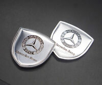 2Pcs Car Logo Emblems Stickers Side Decals Badge Accessories For Land Rover