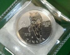 2013 20 for $20 .9999 FINE SILVER COIN CANADA Wolf