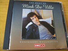 MINK DE VILLE THE BEST OF CD MINT---