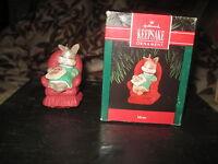 "Hallmark Keepsake Ornament ""Mom"" 1992 MIB W/Price Marker"