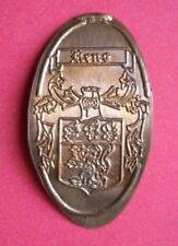 Reno elongated penny Usa cent Historic Crest souvenir coin Coat Of Arms