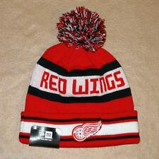 New Era Detroit Red Wings Team Knit The Jake Beanie Hat - NWT!