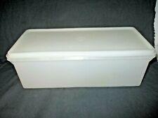 Vintage Tupperware Large Jumbo Bread Keeper Cookie Container #606 w/Lid