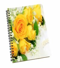 Roses Print A5 Smooth Paper Sheet Notebook Diary Journal Students Notepad