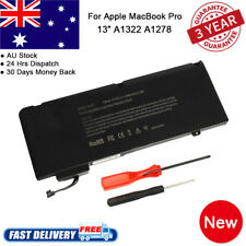 "LAPTOP Battery FOR Apple MacBook Pro 13"" Unibody A1278 A1322 2009 2010 2011 2012"