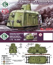 UM-MT 1/72 FURGONI blindati-Carrier DTR (podolsk Machine-Pianta dell'edificio) # 669