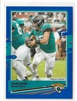 2020 Panini Donruss football Blue press proof photo Variation Gardner Minshew II
