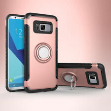 Galaxy Note 8 S7 S9 Case Cover Luxury Magnetic Kickstand Ring Holder For Samsung