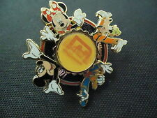 DISNEY WDW 40 YEARS OF MAGIC SPINNER MICKEY MINNIE GOOFY DONALD PIN