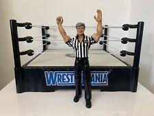 WWE Eric Bischoff Referee Wrestling Figure Cyber Sunday PPV WCW Nitro WWF