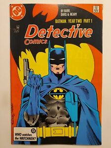 DETECTIVE COMICS #575 (VF+) 1987 BATMAN YEAR TWO STORYLINE BEGINS! ALAN DAVIS