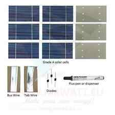 40 SOLAR CELL KIT DIY SOLAR PANEL CELLS CELLE SOLARI CELULAS PANNELLO SOLARE