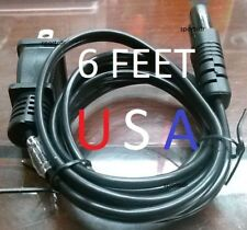Power Cord Cable for Brother DZ1500F LB6800THRD SC6600 XR9550PRW Sewing Machine
