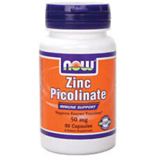 Zinc Picolinate 60 Caps 50 mg by Now Foods