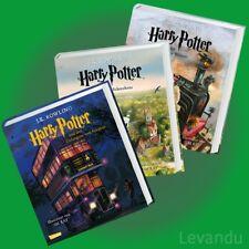 HARRY POTTER 1-3 | J.K. ROWLING | Band 1+2+3 als illustrierte Schmuckausgabe