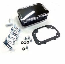 Chrome Air Cleaner for Weber Carburetor 32/36 DGEV DGV 38 DGAS 1 7/8 tall