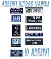 Adesivi ULTRAS NAPOLI 10 adesivi ultraresistenti PVC limited