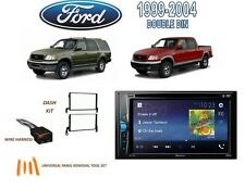1999-2004 FORD F-150 1999-2002 EXPEDITION STEREO KIT DVD TOUCHSCREEN BLUETOOTH