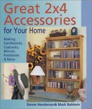 Great 2x4 Accessories for Your Home : Making Candlesticks, Coatracks, Mirrors, F