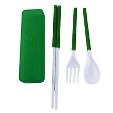 Flatware Sets Camping Tableware Spoon Fork Chopsticks Set Cutlery Bl