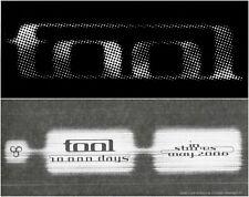 "Tool ""10,000 Days"" Promo Sticker A Perfect Circle Puscifer Maynard Keenan"