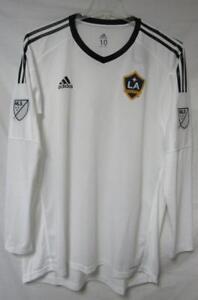 LA Galaxy Men's Size 10 (XL) Adidas Adizero Goalkeeper Jersey A1 247