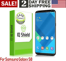 For Samsung Galaxy S8 HD Liquid Skin Full Coverage Screen Protector Film 2 Pack