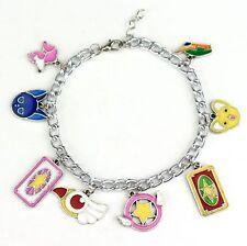 CARD CAPTOR SAKURA Bracciale con Charm CCS GIAPPONE MANGA ANIME cardcaptors SAKURA Kinomoto