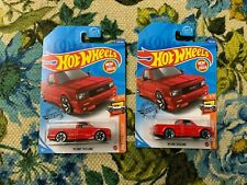 Hot Wheels 91 GMC Syclone Red 150/250 lot of 2