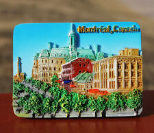 TOURIST SOUVENIR Resin 3D FRIDGE MAGNET ----- Montreal , Canada HOT