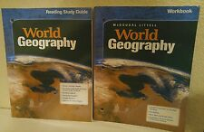 McDougal Littell World Geography Reading Study Guide 10th grade 10 homeschool