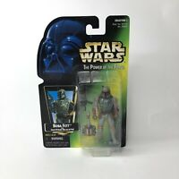 Kenner Star Wars The Power of the Force Boba Fett Action Figure 1997 Hasbro Rare