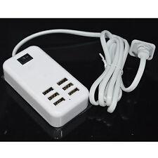 6 Ports 30W Desktop USB Rapid Charger Station Wall Travel Charging Adapter Hub