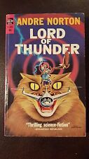 """Andre Norton,""""Lord of Thunder,"""" 1962, Ace /F-243, VG+,1st"""
