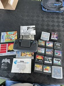 Sega Game Gear Avec 14 Jeux ( A Reparer)