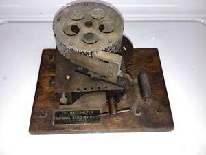 National Radio Institute Natrometer Morse Code Learning Device  - Telegraph Key