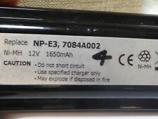 FITS CANON NP-E3 BATTERY  NI-MH 12V
