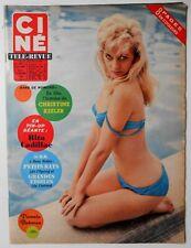 ►CINE REVUE 51/1963-HARDY KRUGER-RITA CADILLAC-INGRID BERGMAN-BRIGITTE BARDOT...