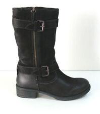 Größe 37 wadenhohe Damen-Stiefel für die Freizeit