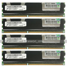 Micron 32GB 4x8GB 2Rx4 PC3-10600R DDR3-1333Mhz 240Pin ECC REG Server Memory RAM