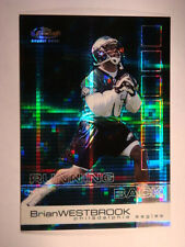 2002 Brian Westbrook Topps Finest Hot Box X-Fractor #102 #13/20 Mint Condition