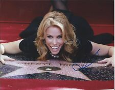 Cheryl Hines Curb Your Enthusiasm Walk Of Fame Hand Signed 8x10 Photo w/COA