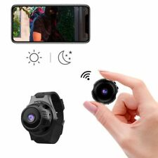 Secret Service Spy Camera Wifi Watch - 1080P FHD with Infrared Night Vision