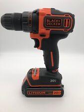 Black & Decker BDCDD220 20v Lithium Ion 10mm